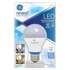 ge reveal 60 watt led light bulb target