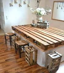Pallet Kitchen Table Dining Table Pallet Wood Kitchen Table Plans