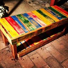 Lovely Pallet Coffee Table