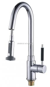 Brushed Nickel Bathroom Faucets Delta by Kitchen Faucet Classy Delta Pull Out Faucet One Hole Kitchen