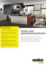 nolte küchen katalog montageanleitung und produktinformationen
