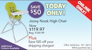 Joovy High Chair Nook by Online Today Only We Are Offering The Gorgeous Joovy Nook High