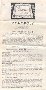 In 1941 Patent 1509312 Expired And Was Removed From All Monopoly Packaging Rules Other Than This The Only Change On Is Section At