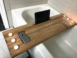Teak Wood Bathtub Caddy by Bathtub Tray Walmart U2013 Speaktruth Info