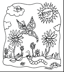 Spring Coloring Sheets Free Printable Magnificent Sunshine Pages Full Size