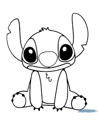 Lilo And Stitch Printable Coloring Pages