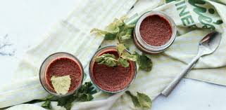 vegan after eight chocolate mousse