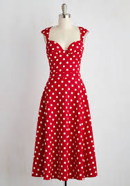 prove your groove dress in red dots best dressed pinterest