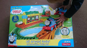 Thomas The Train Tidmouth Sheds Playset by Thomas The Tank Engine Fever Hits All Around Sodor Train Set