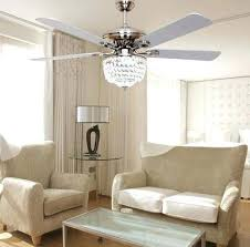 Decorative Ceiling Fans For Dining Room Minimalist Fashion Fan Light Led Crystal Modern Style