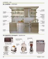 la cuisine en anglais vocabulaire la maison la cuisine vocabulary home