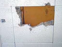 how to asbestos ceiling tile identification l shaped and ceiling