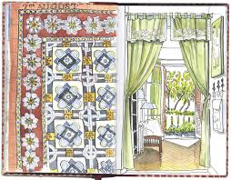 Country Curtains Newington New Hampshire by Farewell To The French Riviera Urban Sketchers