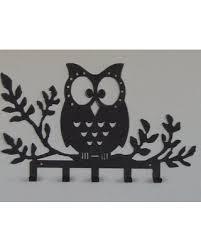 amazing deal on owl key holder owl wall decor key rack owl wall