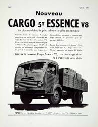 1955 Ad Vintage French Simca Cargo Essence Truck V8 Vehicle Poissy ... Amazoncom Playmobil Cargo Truck With Container Toys Games Bed Net With Elastic Included Winterialcom Modern Stock Illustration 2017 Freightliner Business Class M2 106 Box Van For Delivery And Transportation Of Cstruction Materials As Freight On Trucks Becomes More Valuable Thieves Get Creative In Ease Hybrid Slide Free Shipping Chelong 84 All Prime Intertional Motor Morgan Cporation Bodies And 3d Opel Blitz Maultier Halftruck Truck Isolated Side View Small Delivery Cargo Vector Image On White Background Photo