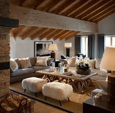 Whether One Wishes For The Woodsy Feel Or Openness Of Sea Rustic Chic Modern Living RoomCosy