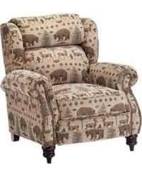 Lane Wall Saver Reclining Sofa by Huge Deal On Lane Furniture White River High Leg Recliner Deer Bear