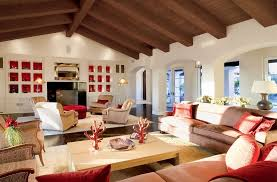 Stunning Faux Coral Decor Decorating Ideas For Family Room Mediterranean Design With Accent Wall