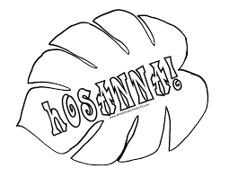 Palm Leaves Coloring Pages Inside