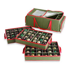 Christmas Tree Storage Container by Amazon Com Real Simple 3 Tray Holiday Ornament Storage 3 Tray