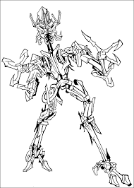 Coloring Pages Transformers Free Printable For Kids