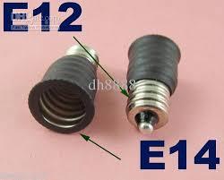 2018 us e12 to european e14 candelabra base socket led light bulb