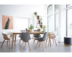 2er set stühle skandinavisches design holz und stoff