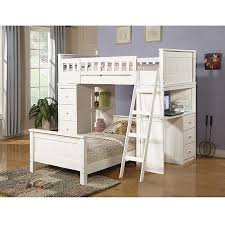 willoughby twin over twin wood bunk bed with desk storage