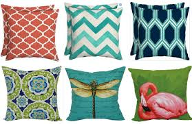 Mainstays Outdoor Throw Pillows ONLY $5