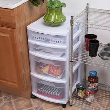 Sterilite 4 Drawer Cabinet Walmart by Sterilite 4 Drawer White Cart Walmart Canada