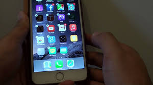 iPhone 6 Plus How to Change Apps Icon on Home Screen Dock Bar