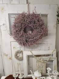gorgeous waxed xl wreath asparagus bordeaux with decoration