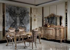 casa padrino luxus barock möbel set antik silber braun gold 1 sideboard mit 4 türen 1 spiegel handgefertigte möbel im barockstil