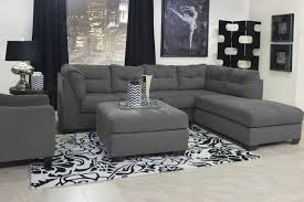 mor furniture for less the maier left facing chaise sectional