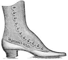 Vintage Shoes Clipart 58