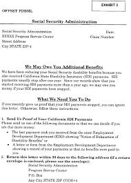SSA POMS DI 030 California Public Disability Benefits
