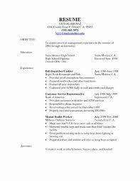 Resume For Customer Service Representative Inspirational Rep Myacereporter