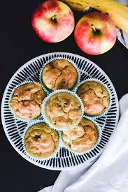 apfel bananen muffins gesundes rezept perfekt für kinder