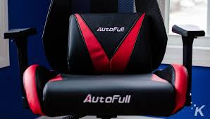 Review: The AutoFull Racing-style Gaming Chair - Like NASCAR ...