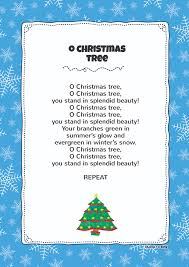 Christmas Tree Names by O Christmas Tree Kids Video Song With Free Lyrics U0026 Activities