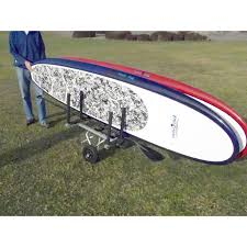 Wheeleez Stand Up Paddle 3 Board SUP Rack Attachment