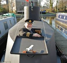 Boat Captains Chair Uk by Homemade U Boat Which Sails In An English Canal Goes On Sale For