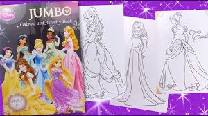Disney Princess Jumbo Activity Book Coloring For Kids