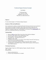 It Technical Support Resume Sample Unique Examples Of Resumes Tech Tec Large Size