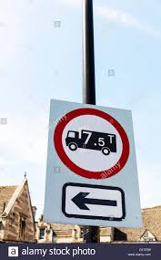 100 Truck Weights Weight Limit Road Sign 75 Tonnes Max Maximum Allowed Truck Lorry