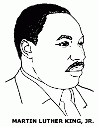 Coloring Pages For Martin Luther King Jr