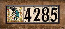 Mexican Tile House Numbers With Frame by Address Tile Numbers And Tile Letters Hand N Hand Designs