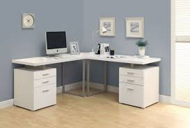 Officemax Corner Desk With Hutch by Desk 129 New White Executive Charming Intended For Modern
