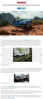100 Mpg Trucks 2019 Ford Ranger Claims BestinClass MPG Fuel Economy 2019 Ford