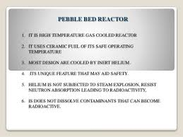 Pebble Bed Reactor by Advanced Nuclear Reactor In Nuclear Power Station